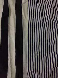 [PRE-LOVED] Stripes Chiffon Shawl