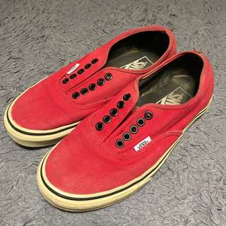 VANS RED CHILLI PEPPER