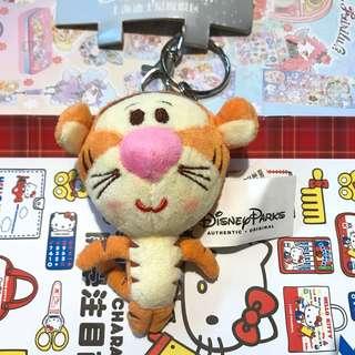 Shanghai Disney Disneyland tigger (pooh) keychain 上海迪士尼樂園跳跳虎鎖匙扣 公仔掛飾