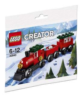 Leeogel [Free Postage] Lego 30543 Christmas Toy Train Polybag - New & Sealed