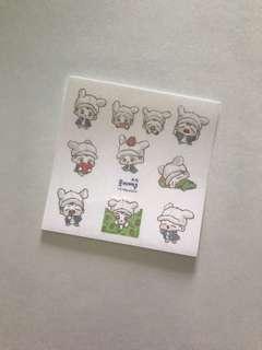 exo baekhyun fanart stickers