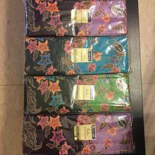 Premium quality batik sarung