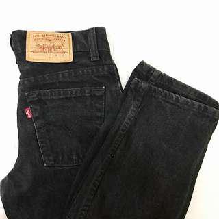 Levi's Black Mom Jeans (Authentic)