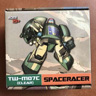 Transformers Toyworld - TW-M07C Spaceracer Clear Ver (aka Cosmo) (Brand New)
