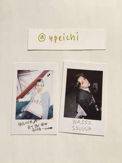 Seventeen Boys Be Official Photocards