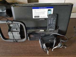 SONY IPOD IPHONE DOCK