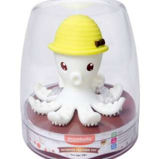 🆕 Coby Haus Mombella Octopus Baby Teether Toys
