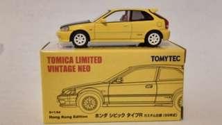 Tomytec Honda Civic EK9 Hong Kong Edition (1999)