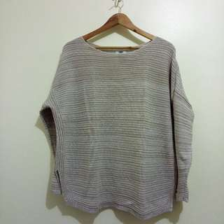 Old Navy Mocha Knitted Sweater