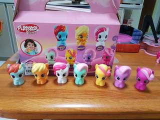 My Little Pony Figurines*REDUCED PRICE FROM $18 TO $16* Buy 7 ponies & Get another other 9 Free & Free Ponies cart!