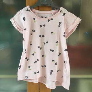 cotton on kids pink pattern t-shirt