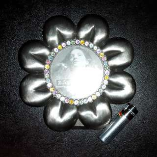 Floral shape metal photo frame,金属花花小相架