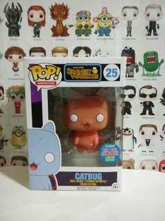 Funko Pop Catbug Orange NYCC Convention Exclusive Vinyl Figure Collectible Toy Gift Animation Cartoon Bravest Warrior
