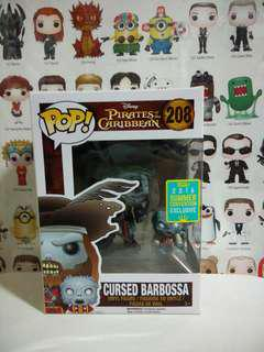 Funko Pop Cursed Barbossa Summer Convention Exclusive Vinyl Figure Collectible Toy Gift Movie Pirates Of the Caribbean