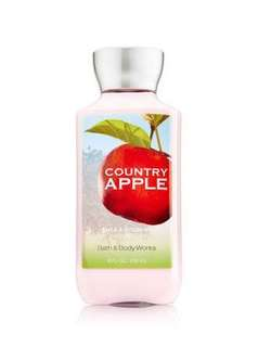 Bath & Body Works Country Apple Body Lotion