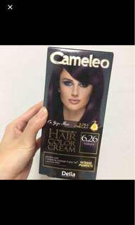 Cameleo Aubergine 6.26 Hair Colour Dye
