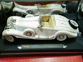 Mercedes-Benz 500K Typ Special Roadster 1936 1:18 Diecast Maisto