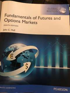 Fundamentals of Futures and Options Markets to give away