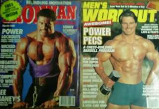 Weightlifting / Body Building Magazines