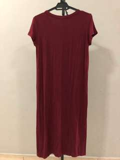 Long tshirt with front slit