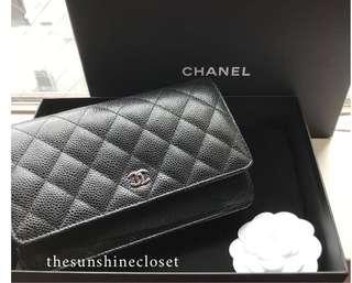 Chanel Wallet on Chain / Caviar WOC SHW