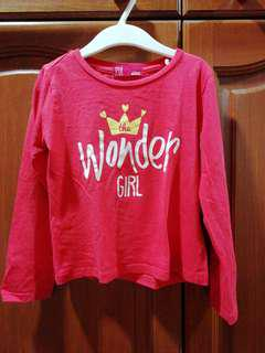 Wonder girl shirt