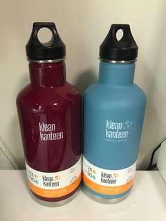 BN 32oz Klean Kanteen Insulated water bottle