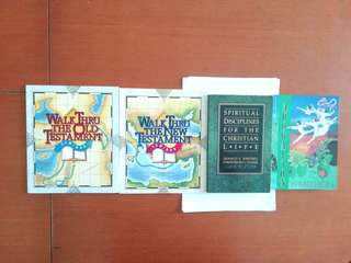 Books on various topics. Written by Donald S. Whitney and Frankie and Julie Yeo and by Dr Bruce H. Wilkinson
