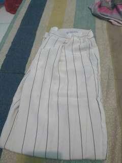 Zara pants stripe