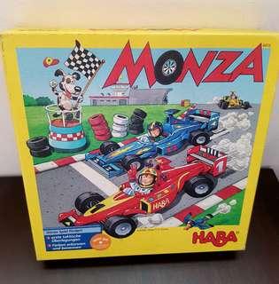 Monza Racing Car Board game