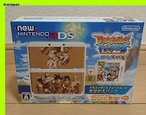 (NEW-OOP) Japan Nintendo New 3DS Dragonball: Fusions Limited Edition Console