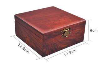 方形首飾盒越南紅木珠寶盒手鍊和木盒項鍊盒寶物木盒Jewellery Box