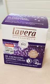 德國有機Lavera re-energizing Sleeping Cream