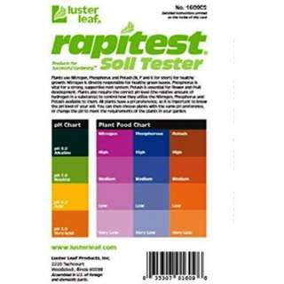 Luster Leaf 1609CS 10-Set Rapitest Soil Tester