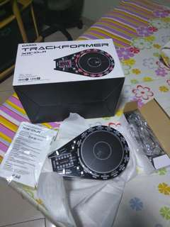 Casio xw-dj1 trackformer djay algoriddim