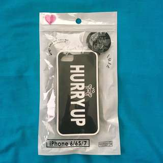 iPhone jelly case black (for 6/6S/7)