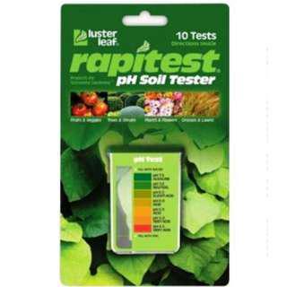 Luster Leaf 1612 Rapitest 10-Test pH Soil Tester