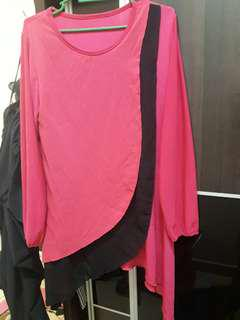 Pink Top plus size