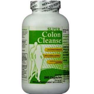 Made in USA Super Colon Cleanse 550mg x 240c