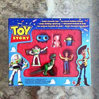 Toy Story 1 : Andy Favourite Toys