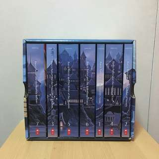 Harry Potter Series Special Edition Scholastic Box Set