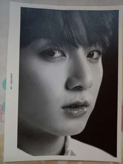 JUNGKOOK Wings Tour: Face Photo Collection(tour merchandise)