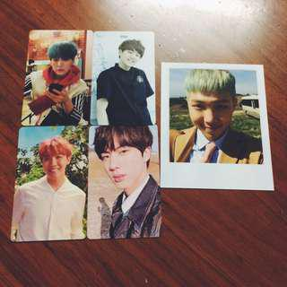 BTS Official photocard / PC