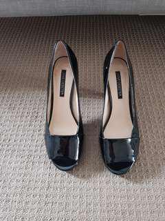 Jane Debster Black Patent Heels