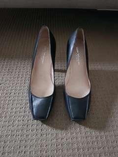 Zoe Wittner Design Leather Black Heels