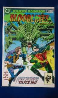 Bloodlines Earthplague Robin Annual #2