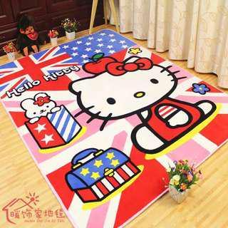 Kids Carpet hello kitty clearance stock
