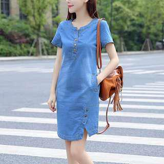 2018 New Summer Casual Janes Dress