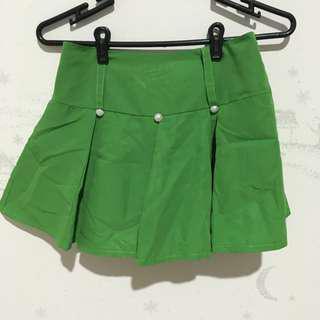 Cute Green Skort