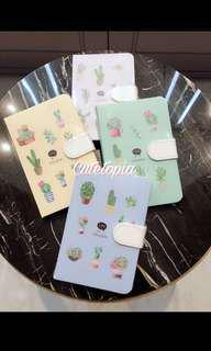 🚚 Succulent cactus notebook